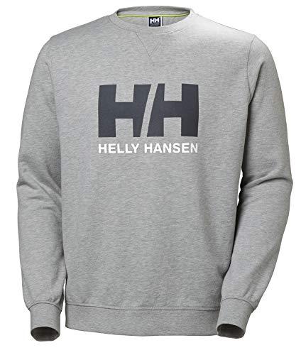 Helly Hansen HH Logo Crew Sweat Shirt Homme, Gris (Gris 950), X-Large