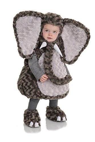 Underwraps Costumes Costume Peluche bébé éléphant Taille 18/24 Mois