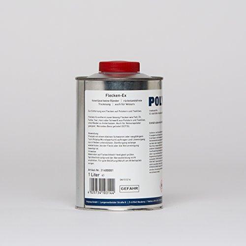 Polytop Détachant tache Ex - Pour tissus et tissus - 1 l