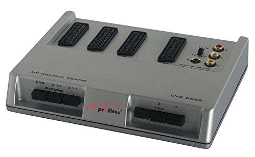 profitec CVS 868 S Scart Umschaltbox mit Cinch und S-VHS Buchsen