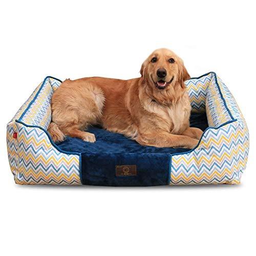 Orthopedisch hondenbed voor grote honden, wasbaar, zacht en duurzaam, 82 × 70 × 30 cm