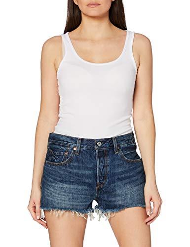 Levi's 501 Short, Pantalones Cortos para Mujer, Azul (Echo Park 38), W28