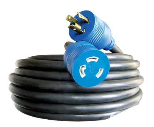 Voltec 06-00181 10/3 SEOOW All-Flex Utility Locking Extension Cord, 100-Foot, Black