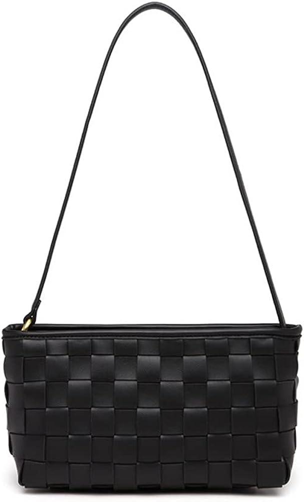 JIUFENG Totes Shoulder Bags for Women Weave Trendy Underarm Handbags