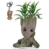 Kyhon Baby Groot Maceta - Maravillosa Figura de acción de Guardians of The Galaxy para Plantas y bol...