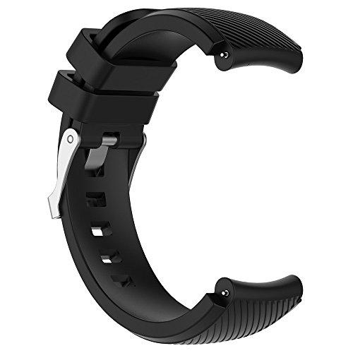 Riou Correa para Reloj,❤️Compatible con HUAMI Amazfit Stratos Smart Watch 2 Correa de Reloj Suave de Silicagel para Reloj Deportivo Pulseras de Repuesto