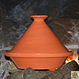 Traditional terracotta tagine - D 23 cm