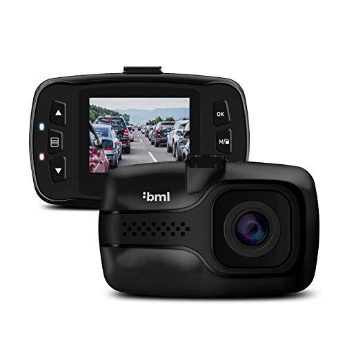 BML dCam3 Mini Dashcam Auto kamera - Videoregistrator Für Auto - Kompakte Autokamera Dash Cam Full HD mit G-Sensor, Parkmodus und Schleifenaufzeichnung