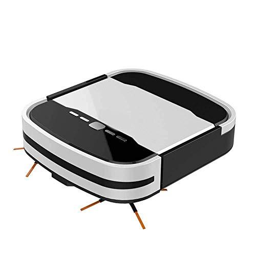 LTLJX Robot de Barrido Inteligente electrodomésticos Inteligentes Barrer y Fregar Integrados Totalmente automáticas LUDEQUAN (Color : Black)