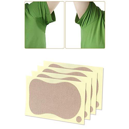 10pcs 9 x 6.5cm Almohadillas para el sudor de las axilas - Parche desodorante en la axila Almohadilla para la axila que absorbe el sudor unisex, Hoja de olor absorbente contra la transpiración para