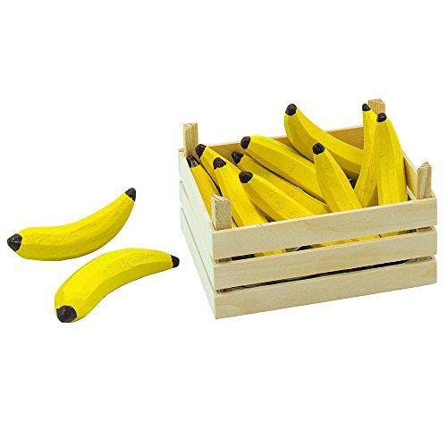 goki 51670 - Kaufläden und Zubehör - Bananen, Obstkiste