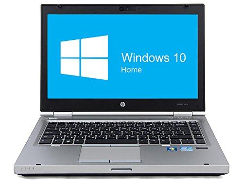 HP Elitebook 8470p Notebook | 14 Zoll Display | Intel Core i5-3320M @ 2,6 GHz | 8GB DDR3 RAM | 320GB HDD | DVD-Laufwerk | Windows 10 Home vorinstalliert (Generalüberholt)