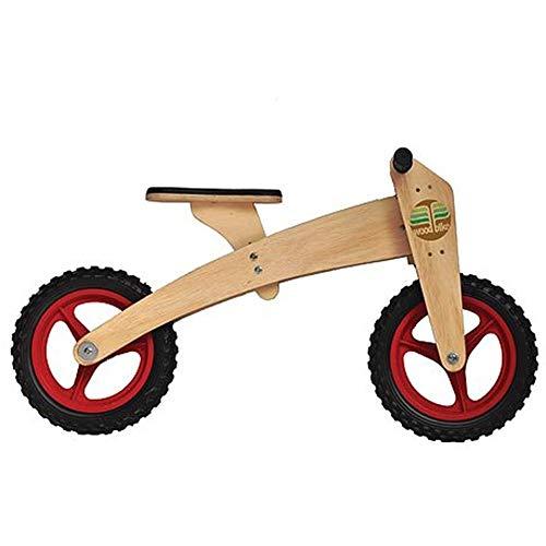Bicicleta de Madeira Woodbike - 2 Estágios - Woodline - Vermelho - Camará