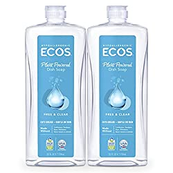 Image of ECOS eco friendly dish soap