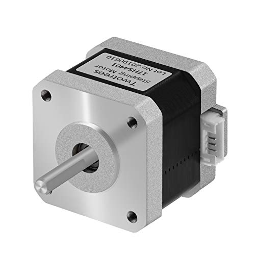 Twotrees Stepper Motor Nema 17 Motor High Torque 1.5A (17HS4401) 42N.cm (60oz.in) 1.8 Degree 38MM 4-Lead with 1m Cable and Connector for 3D Printer