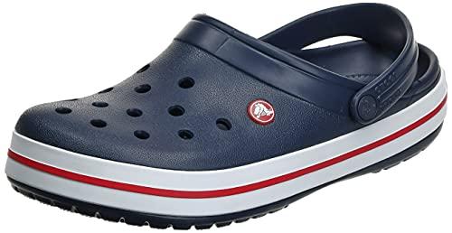 Crocs Crocband Clogs, Ciabatte Unisex-Adulto, Navy, 43/44 EU
