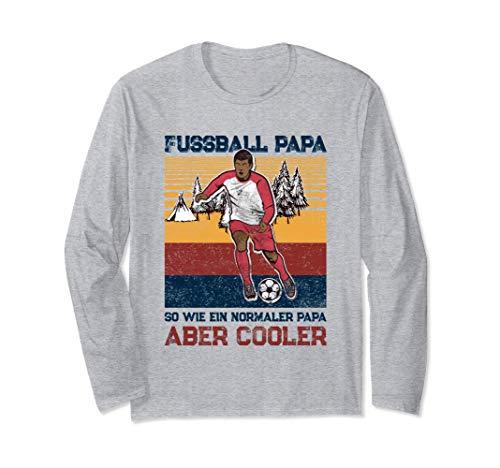 Fußball Papa [2021] - Geschenk für Fußballer & Trainer Langarmshirt