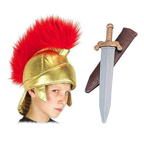 Roman Helmet & Sword - Child Acc...