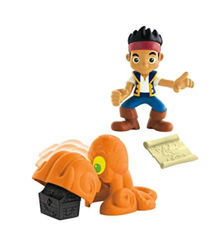 Jake y los piratas - Pack con figuras y accesorios, Jack (Mattel CCY76) , color/modelo surtido