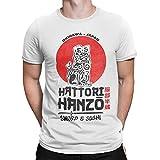 Camisetas La Colmena 2242-Hattori (Melonseta), bianco, M