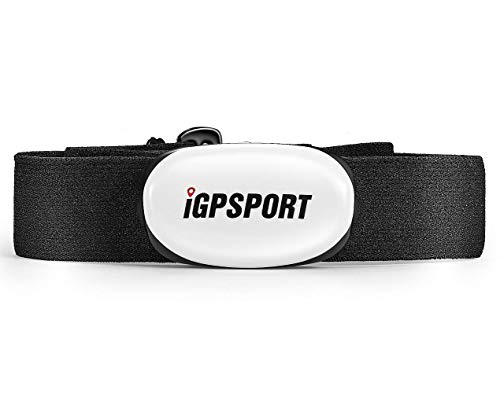 IGPSPORT Cardiofrequenzimetri HR40 per Tracker di Fitness, Supporto Bluetooth e Ant+ Sensore di...