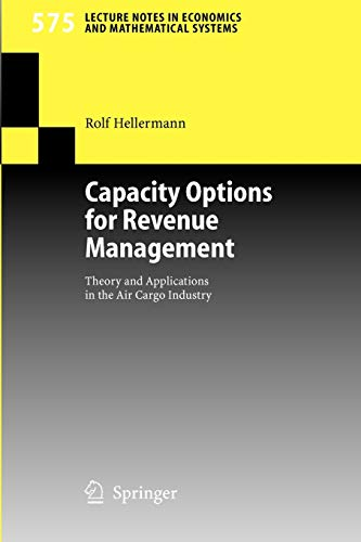Capacity Options for Revenue Management:...