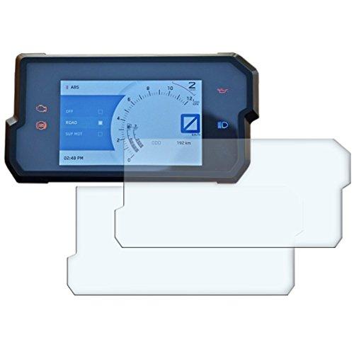 Duke 125 2017+ Displayschutzfolie Tachoschutzfolie - 2 x Ultra-Clear