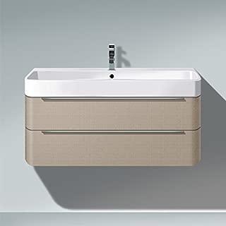 Duravit H2636507575 HD2 Vanity unit WM Linen 380x775x480mm, f.231880, 2 drawers,