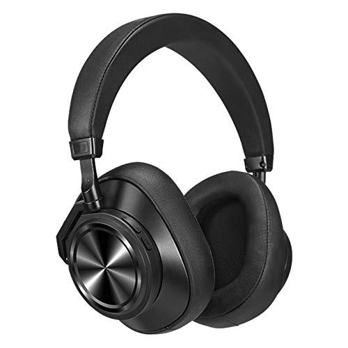 HXCH Auriculares Bluetooth sobre la oreja, Hi-Fi Anc Active Noise Reduction Stereo Bluetooth, 40H Tiempo de reproducción con graves profundos, micrófono integrado, teléfonos celulares/TV