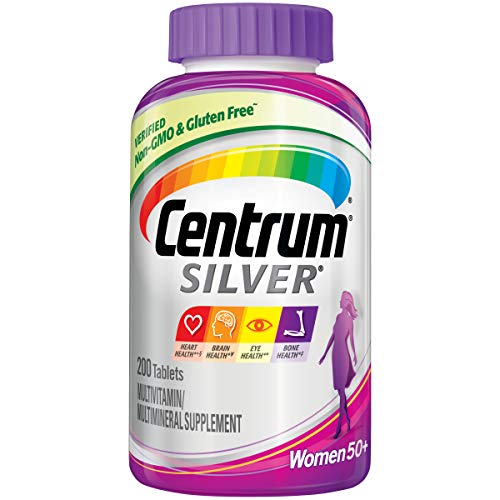 Centrum Silver Multivitamin for Women 50 Plus, Multivitamin/Multimineral...