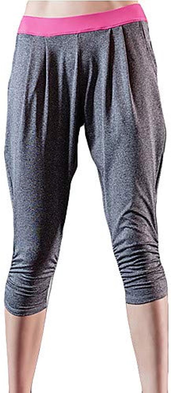 Women's Loose Sweatpants Pants  color Block high Waist