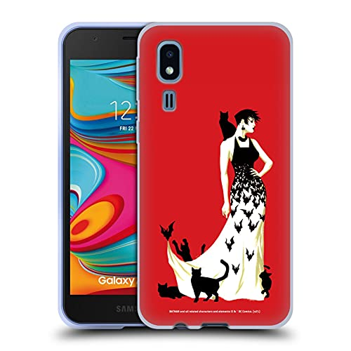 Head Case Designs sous Licence Officielle Batman DC Comics Couverture de Variante n ° 50 Catwoman Coque en Gel Doux Compatible avec Samsung Galaxy A2 Core (2019)