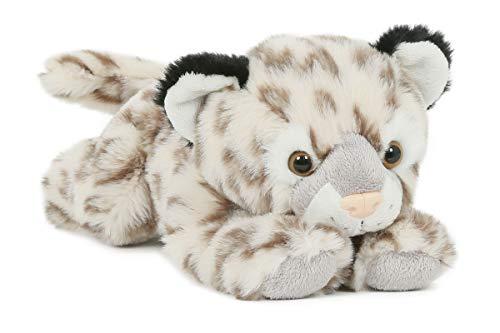 Trigon Plüschtier Schneeleopard 27cm Stofftier Soft Kuscheltier Raubkatze Plüschtiere
