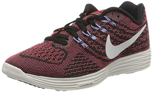 Nike Damen WMNS Lunartempo 2 Laufschuhe, Braun (Black/hot Punch/Aluminium/Summit White), 37.5 EU