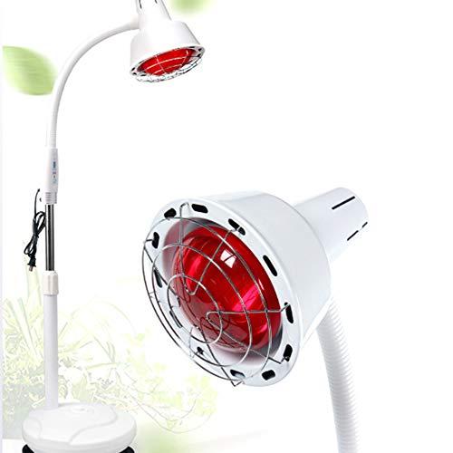 Lamp voor fysiotherapie, infrarood, om neer te zetten op de vloer, schoonheidssalon voor hyperthermie, ter ondersteuning van spierpijn, verwarmingslamp.