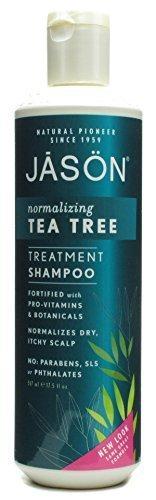 Jason Normalizing Tea Tree Treatment Shampoo 17.5 oz - (Pack Of 2) by JASON NATURAL PRODUCTS