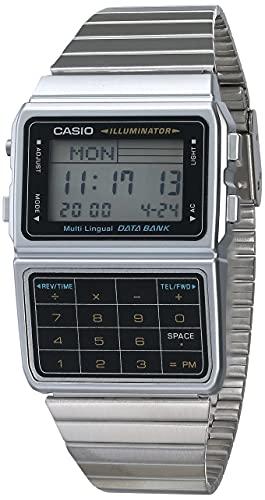 reloj casio plateado fabricante Casio