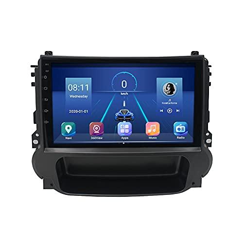 Kilcvt 4g + 64g Dsp Carplay Car Radio Reproductor De Video Multimedia Navegación GPS Android 10, para Chevrolet Malibu 2012-2015 Soporte Control del Volante/Multimedia/Enlace Espejo