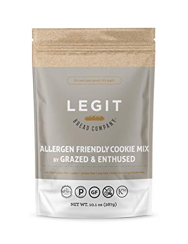 Legit Bread Company Allergen Friendly Cookie Mix by Grazed & Enthused, 2 pack