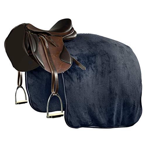 NETPROSHOP sprei dekbed van fleece buitenkant zacht pluche donkerblauw selectie, XL Full, donkerblauw
