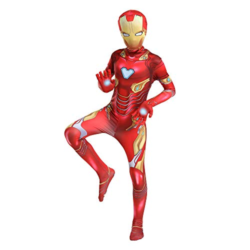 Superhero Costume for Kids,3D Bodysuit Halloween Cosplay Costumes for Boy (GTXJSY,XS)