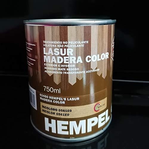 HEMPEL'S LASUR MADERA COLOR INCOLORO 0,75 L.