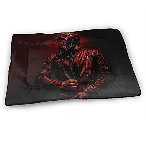 AMSYES Colchón de cama para mascotas de Guardians of the Galaxy, tamaño mediano, para calentador, felpudos para perros medianos, 83 x 53 cm