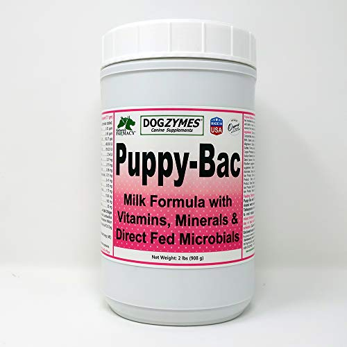 Dogzymes Puppy-Bac Milk Replacer formulated