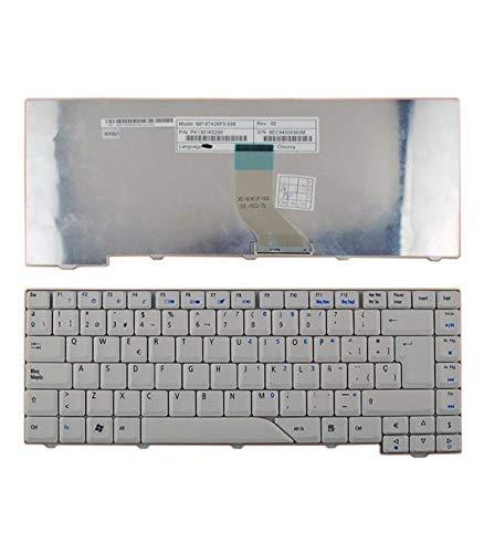 Portatilmovil® - Teclado para PORTÁTIL Acer Aspire 4710, 5315, 5920, 5235 con Fondo Negro