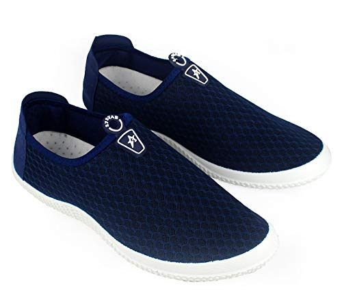 Zapatos Deportes para Hombre,Calzado para Verano sin Cordones,Zapatillas Casuales Transpirables de Fondo Plano para Correr Gimnasio Sneakers Deportivas