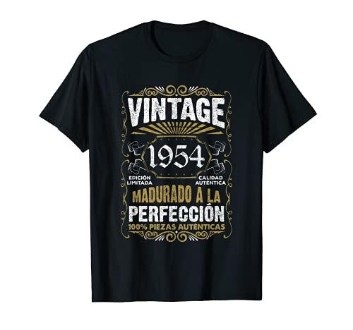 Regalo de 67 cumpleaños Vintage 1954 67 años Hombre Mujer Camiseta