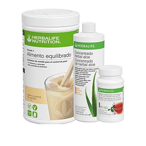Herbalife - Suplemento Rico en Proteina, Desayuno Nutritivo Rico en Proteina (Crema de vainilla 780 g)