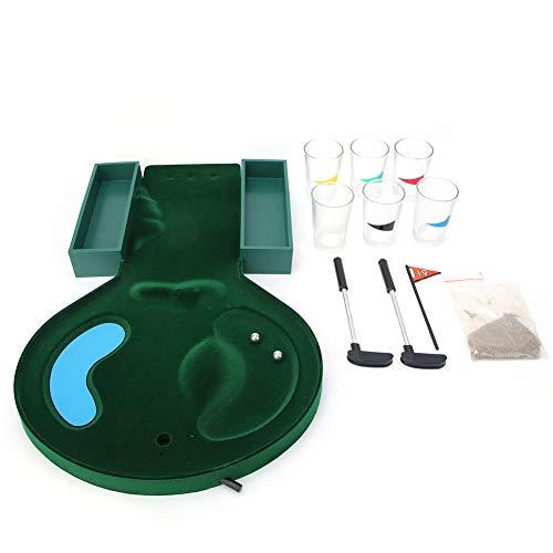 デスクトップゴルフ、パーティーのための娯楽のための簡単なストレージエンターテインメントプラスチック製の成長した男ゲーム