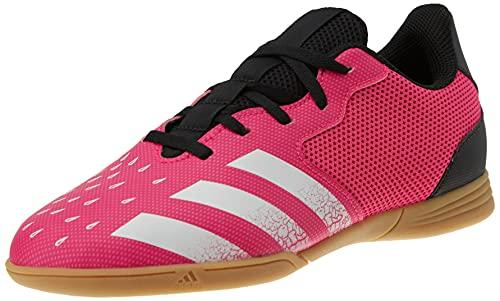 adidas Predator Freak .4 IN Sala J, Zapatillas de fútbol, ROSSHO/FTWBLA/NEGBÁS, 28 EU
